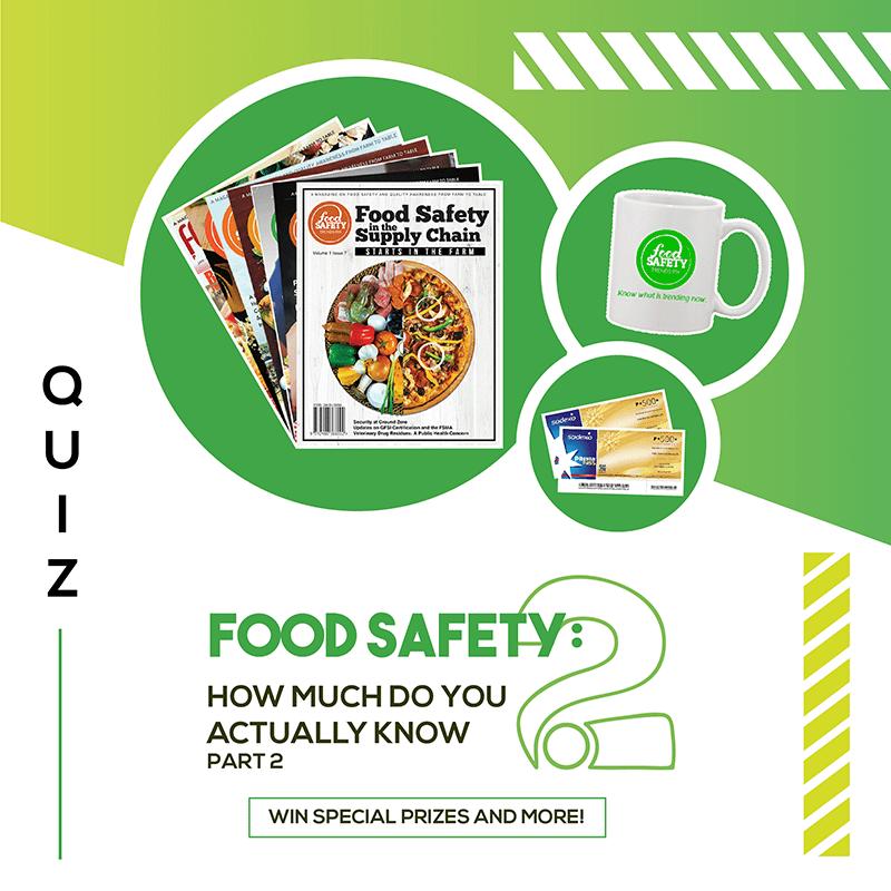 food safety quiz campaigne